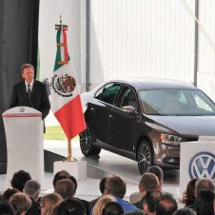 VW mit Milliardeninvestition in Mexiko