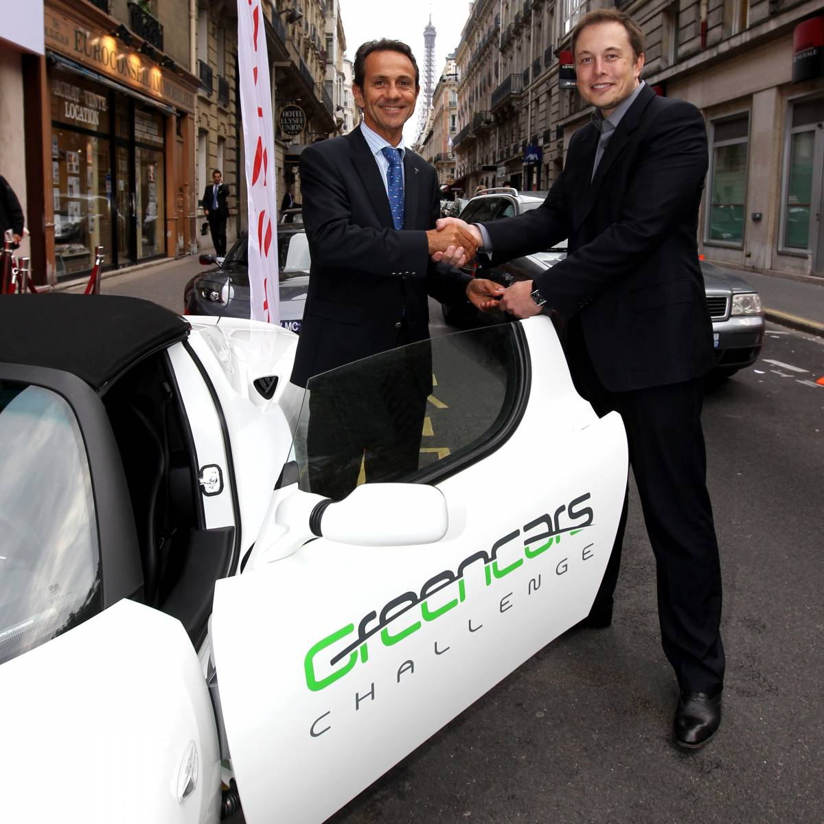 Schweizer Start-Up Green Cars Challenge vermietet Tesla