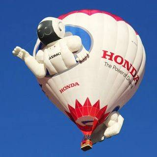 Honda am 34. Internationalen Ballon Festival in Château d'Oex