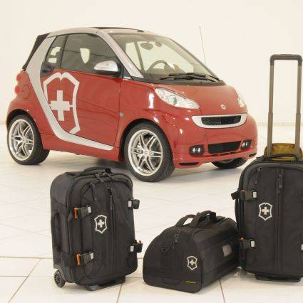 Messerscharfer smart fortwo limited Victorinox