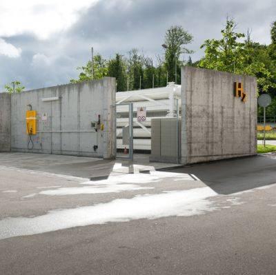Brugg: Erste Wasserstoff-Tankstelle der Schweiz