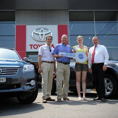 Toyota Co-Sponsor am Heitere Open Air