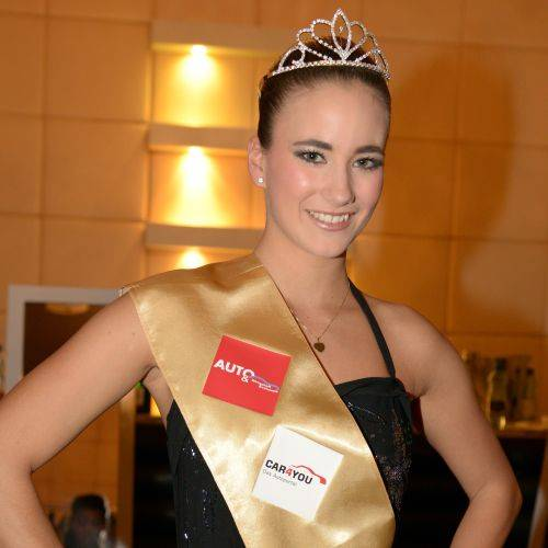 Chantal Breitinger ist Miss Auto-Salon 2014