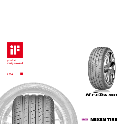 Nexen Tire N'FERA SU1 erhält iF Design Award 2014