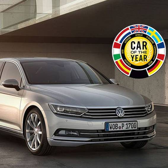 VW Passat ist «Car of the year 2015»