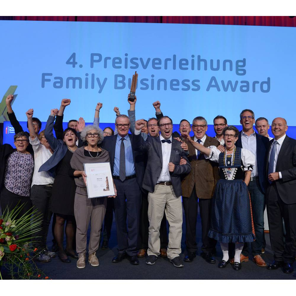 Wyon AG: Gewinner des AMAG Family Business Awards 2015