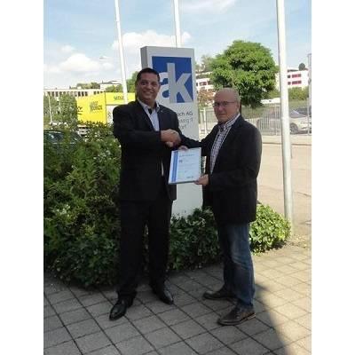 Audit bestätigt Top-Qualitätsmanagement der André Koch AG