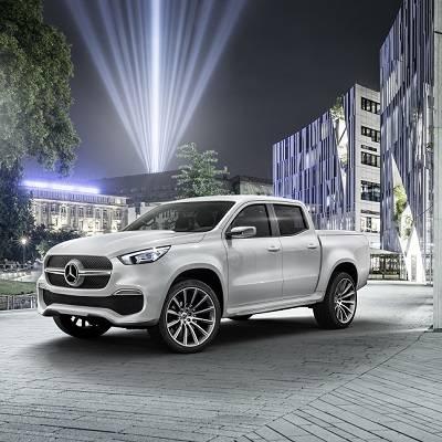 Mercedes-Benz: Erster Ausblick auf neuen Pick-up mit Stern