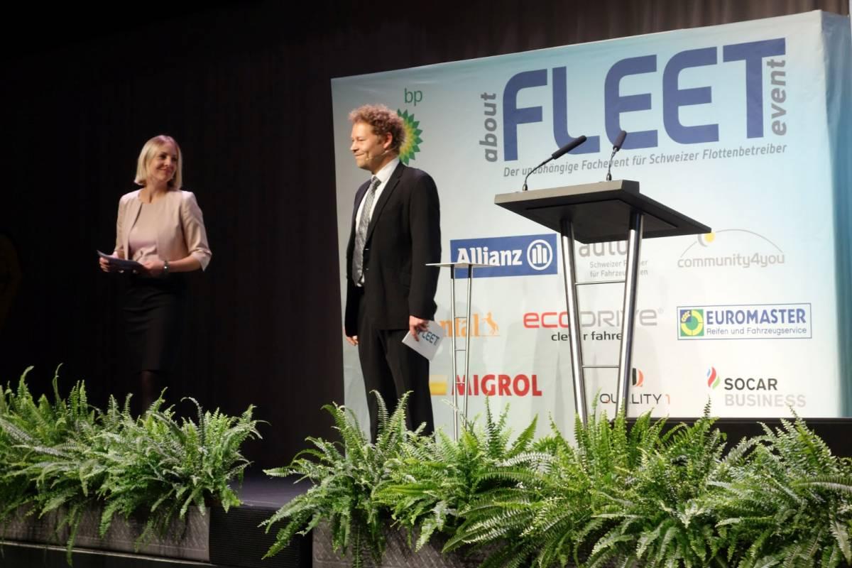 aboutFLEET Event 2016: Flottenbranche traf sich in der Umwelt Arena