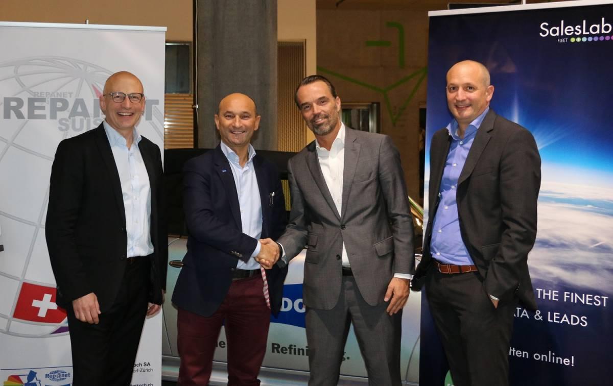 André Koch AG/Repanet Suisse und SalesLab Fleet AG spannen zusammen