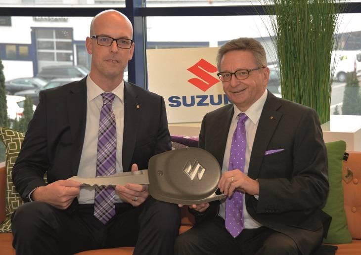 Wechsel in der Geschäftsleitung von Suzuki Schweiz