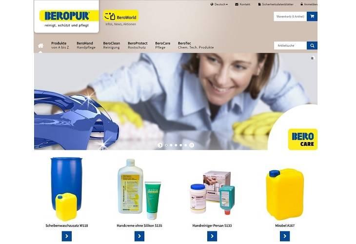 Beropur mit neuem e-Shop und neuer ökologischer Produktelinie