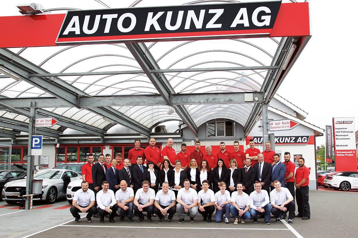 Die Auto Kunz AG ist 50 – feiern können auch die Kunden