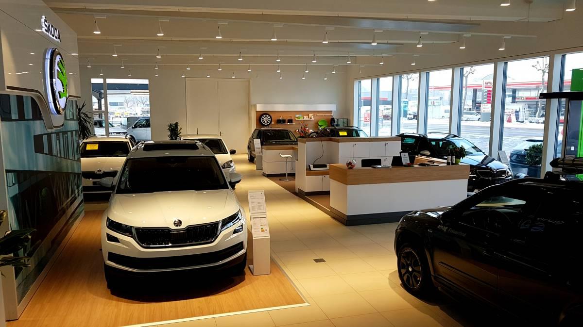 AMAG Frauenfeld eröffnet neuen Skoda-Showroom