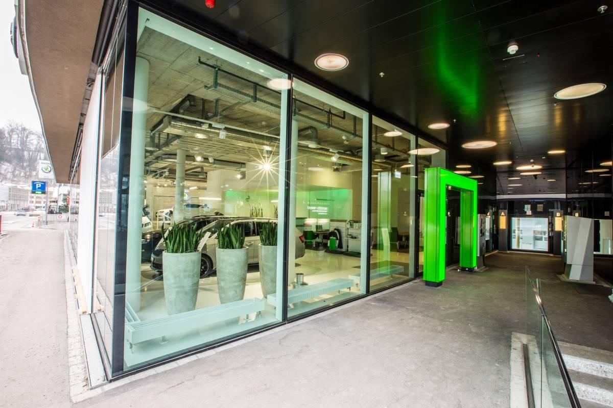 AMAG Schaffhausen eröffnet neuen Skoda-Showroom