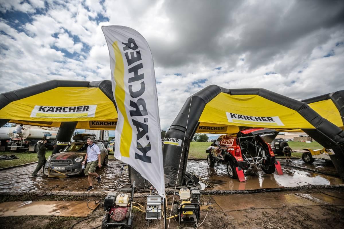 Kärcher war zum sechsten Mal bei der Rallye Dakar dabei
