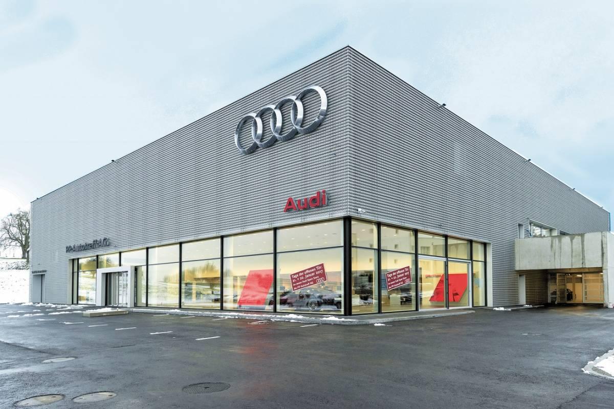 Audi Sport Store in Wittenbach feiert Eröffnung
