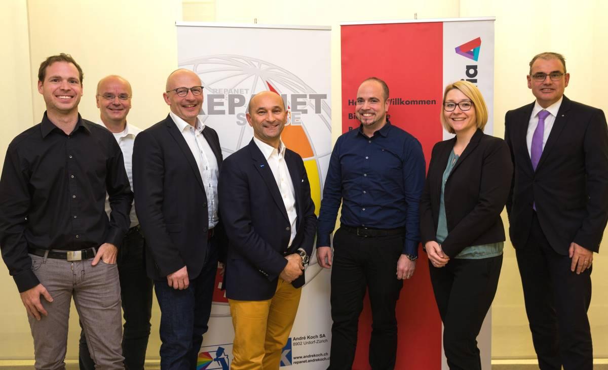 Repanet Suisse schliesst Partnerschaft mit Helvetia ab