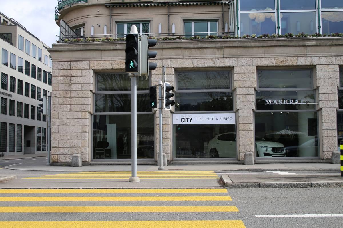 Maserati City öffnet seine Tore in Zürich