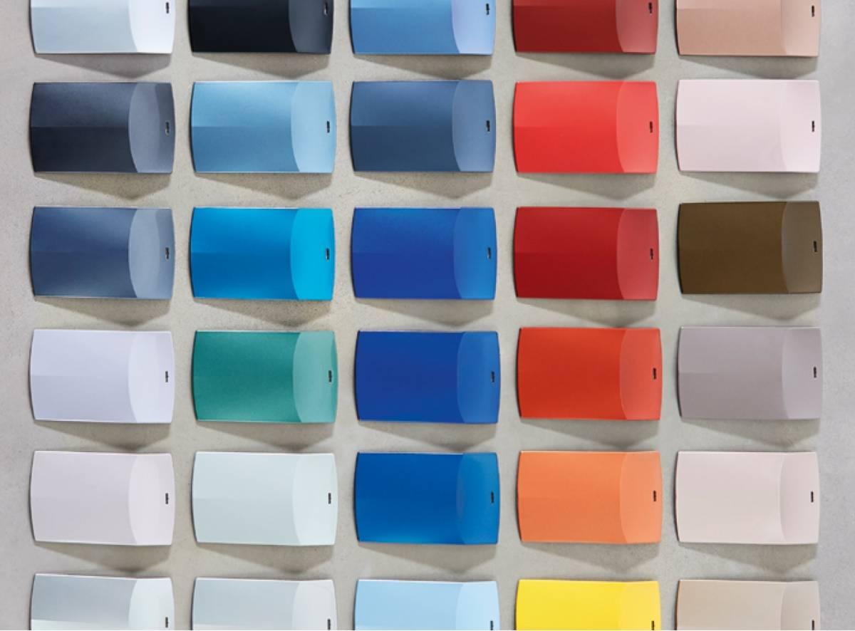 BASF-Color-Report: Weiss und Blau top bei unbunten und bunten Farben