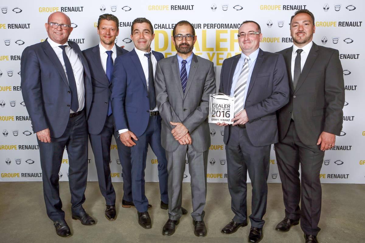 Zwei Schweizer Garagen unter besten Renault-Händlern weltweit