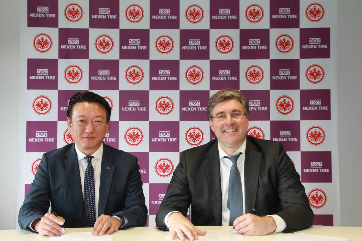 Nexen Tire und Eintracht Frankfurt verlängern Partnerschaft