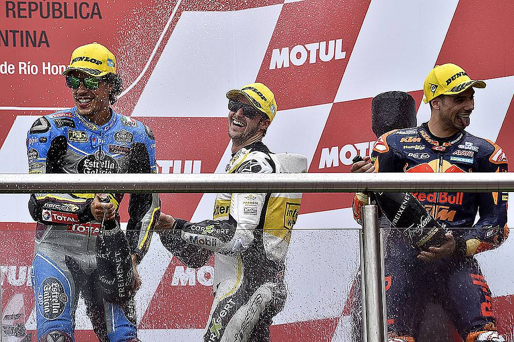 Moto2: Tom Lüthi erneut auf dem Podest