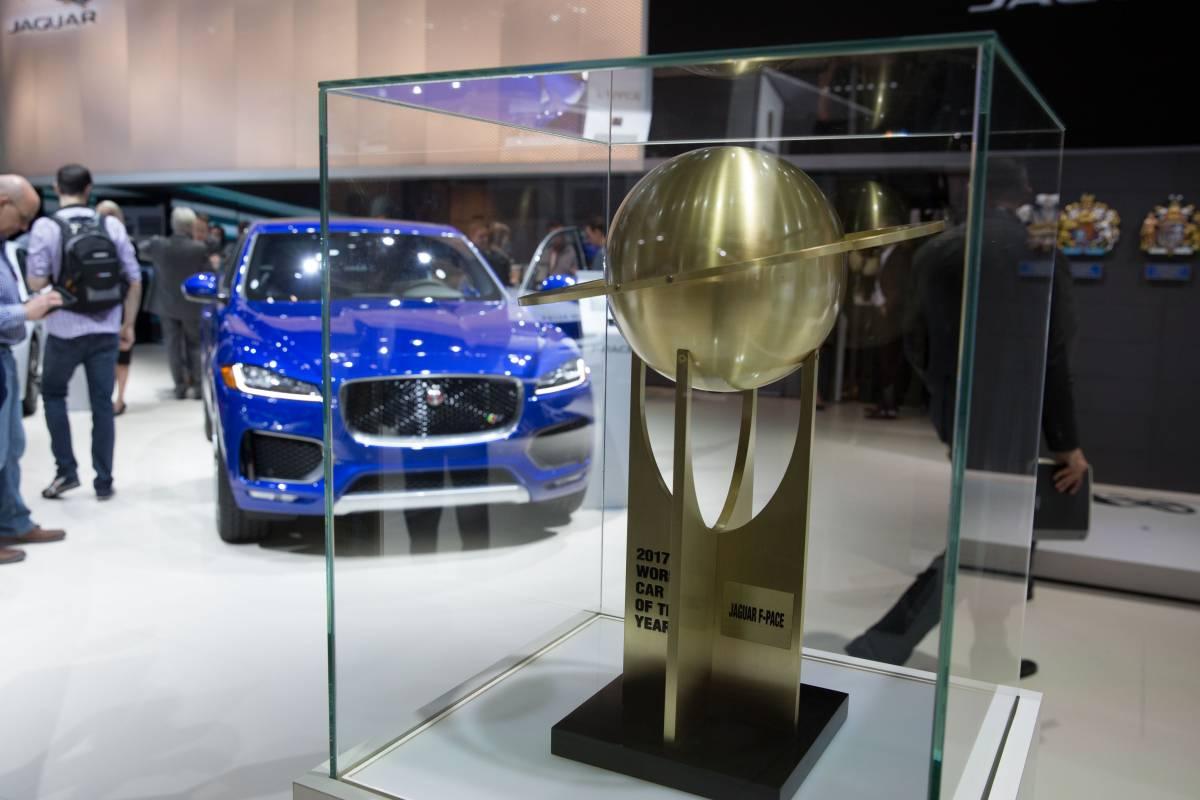 Jaguar F-Pace wird zum «World Car of the Year 2017» gewählt