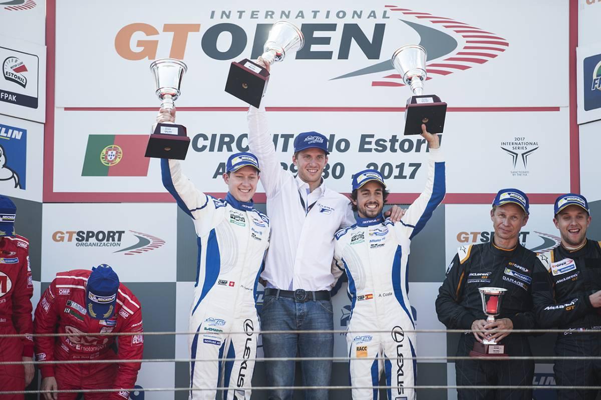 Sensationeller Auftaktsieg für Emil Frey Lexus Racing