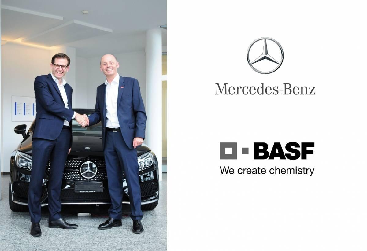 Mercedes-Benz Schweiz AG und BASF vertiefen ihre Partnerschaft