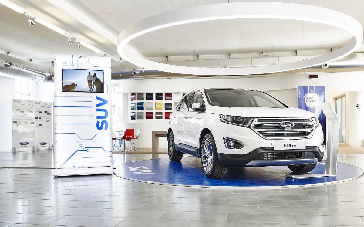 FordStore St. Gallen – Wolgensinger AG wird zum Ford Flagship-Store