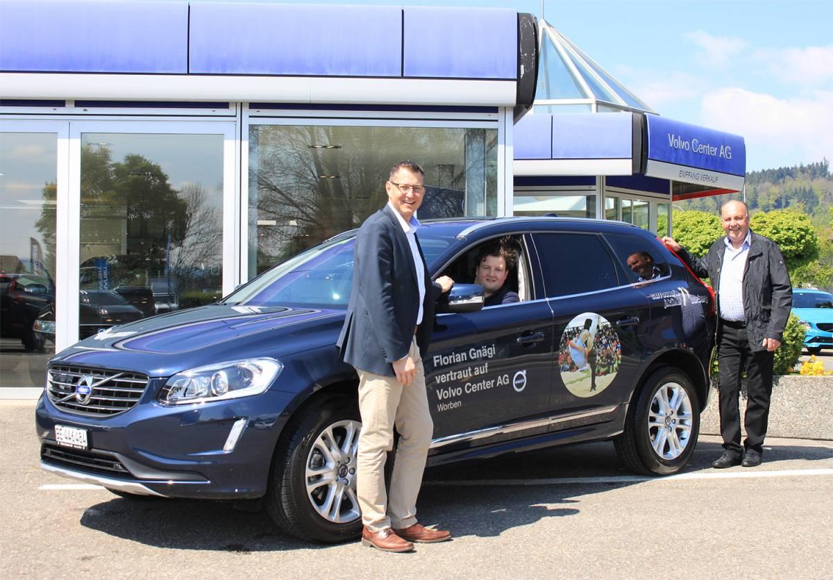 Kranzschwinger Gnägi vertraut weiterhin auf die Volvo Center AG