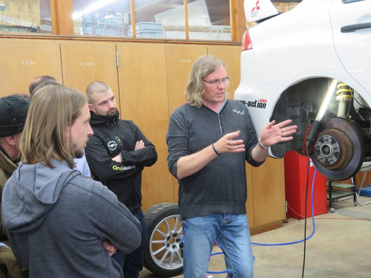 Kurse zum Thema Fahrwerktechnik von KW