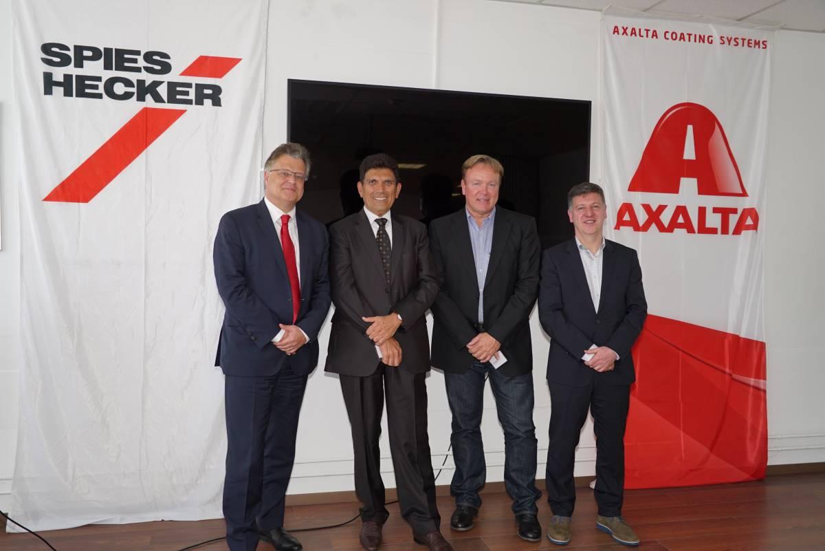 Axalta übernimmt CH Coatings AG