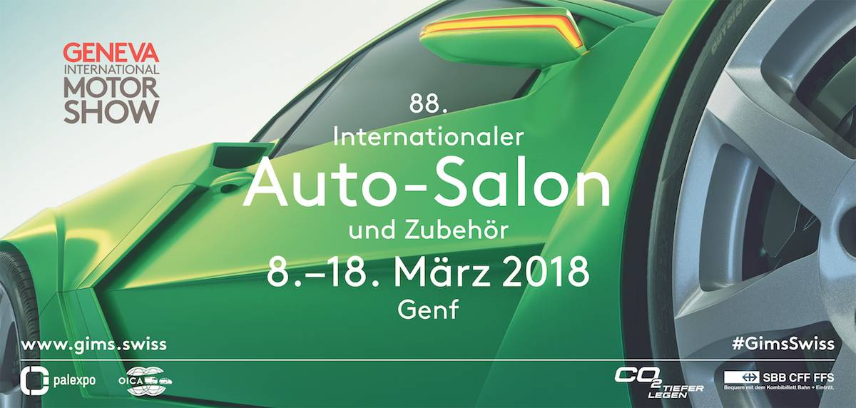 Der 88. Internationale Automobil-Salon Genf mischt die Karten neu
