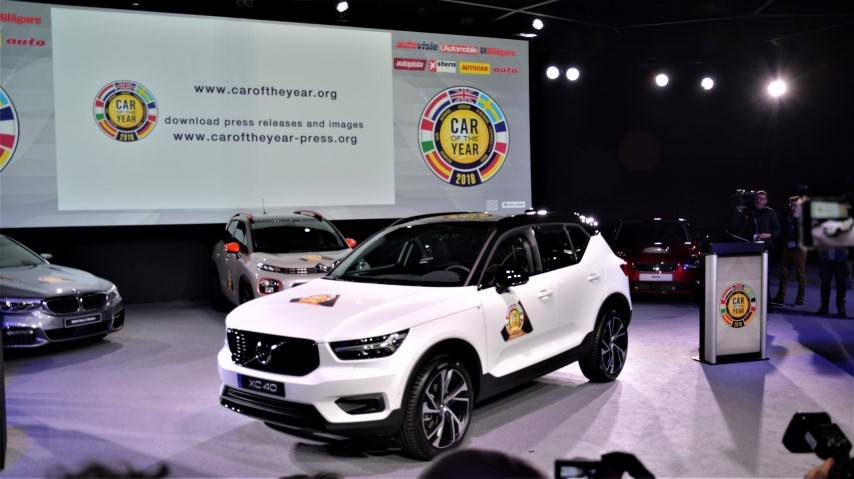 Volvo XC40 ist Car of the Year 2018