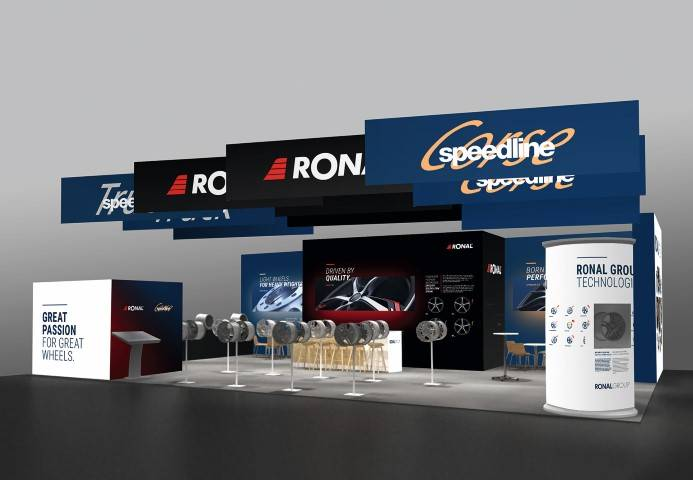 Ronal Group: Grosser Auftritt an der « Tire Cologne »