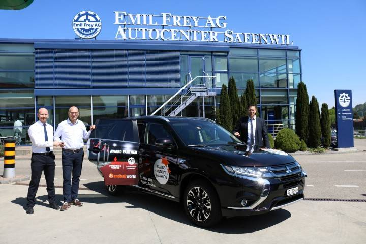 Emil Frey AG Safenwil ist Partner der Swiss Handball Awards 2018