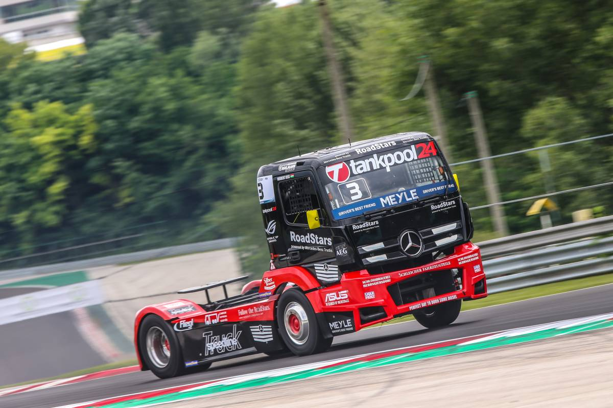 Ronal: Speedline am Truck Grand Prix Nürburgring
