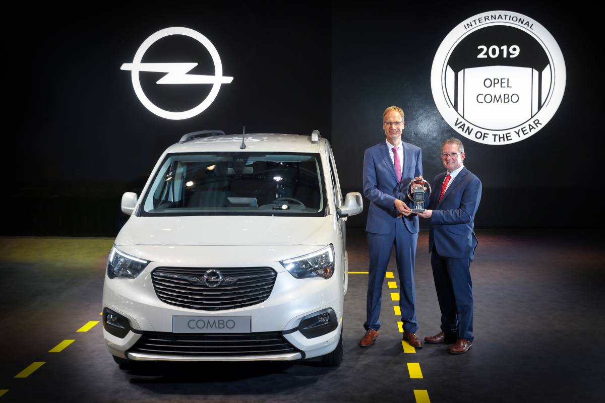 Opel Combo zum International Van of the Year 2019 gewählt