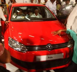 Erster VW Polo rollt in Indien vom Band