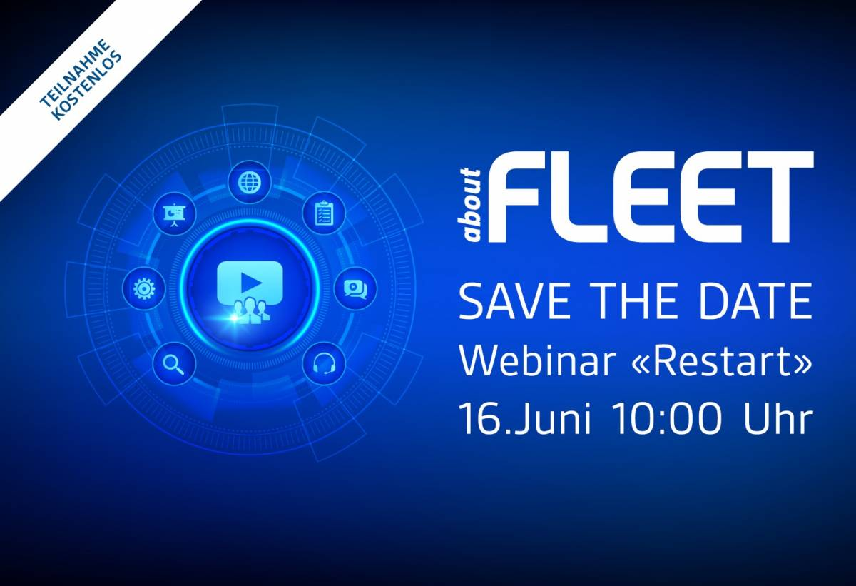 Save the date: aboutFLEET Webinar «Restart»