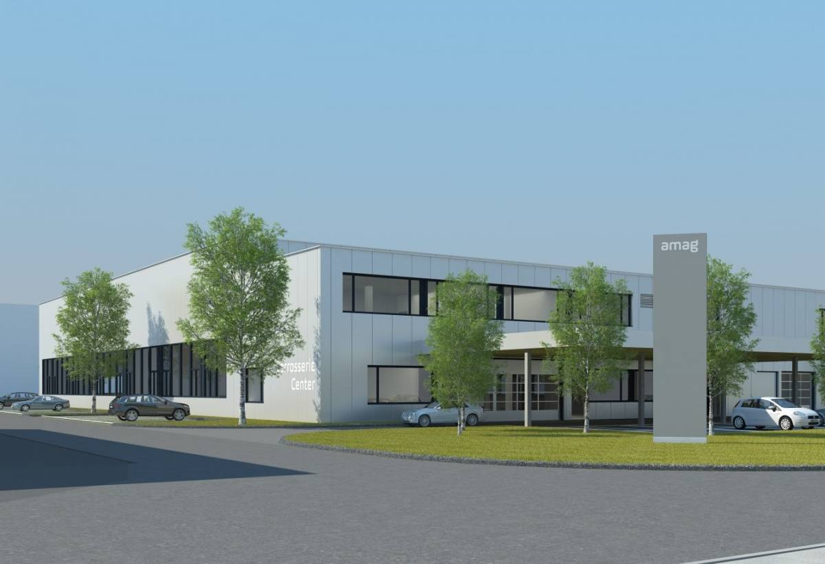 Neues AMAG Carrosserie Center in Wettswil am Albis