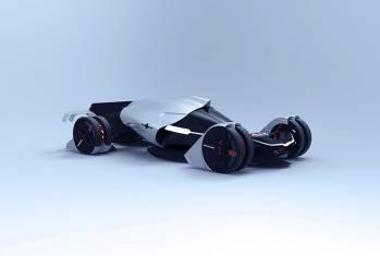 Tesla T1 Konzeptfahrzeug: Mehr Power mit Wind