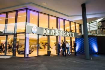 900 Quadratmeter Maserati für die Zentralschweiz