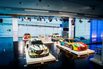 Neue Sonderausstellung «BMW Art Cars / How a vision became reality» in München