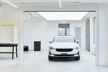 Polestar Space: Showroom Downtown Zürich