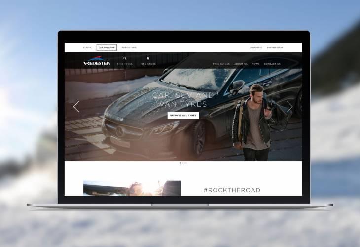 Neue Webseite von Vredestein: smart, intuitiv und Verbraucher zentriert