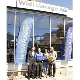 Der 300. le GARAGE-Partner